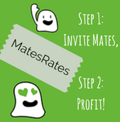 Earn some extra credit or cash with MatesRates!